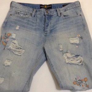 Lucky Brand Sienna Slim Boyfriend Size 8/29 Jeans